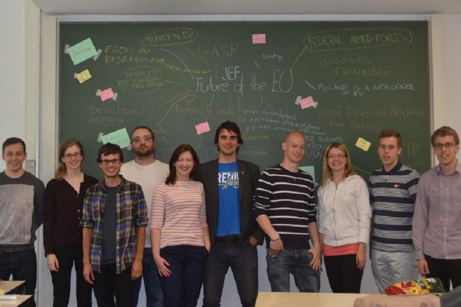JEF Austausch 2015 – Europäische Identitäten aus tschechischen und deutschen Blickwinkeln