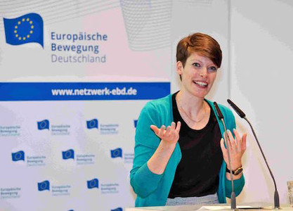 Ehemalige JEF-Bundessekretärin ist Frau Europas 2014