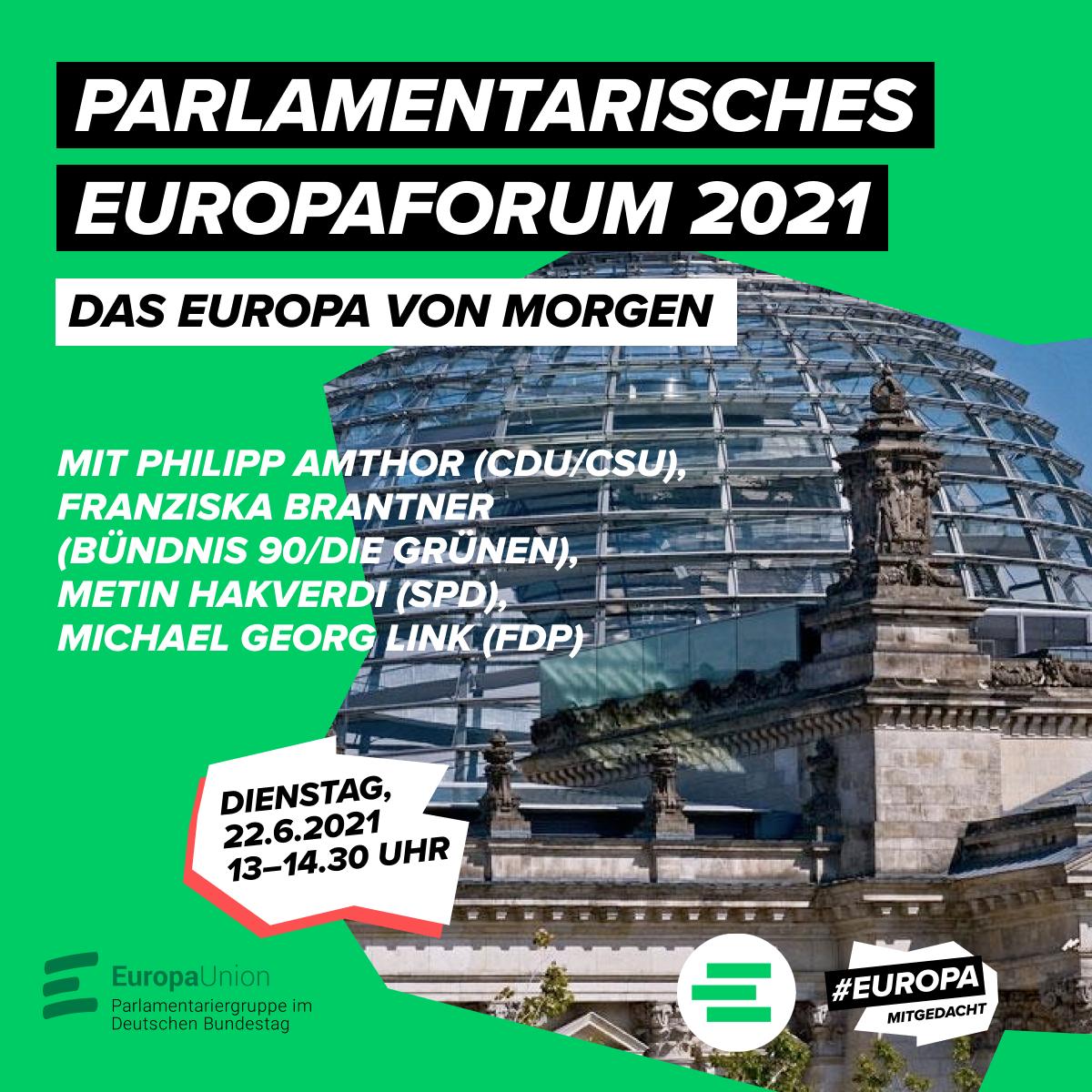 Parlamentarisches Europaforum 2021