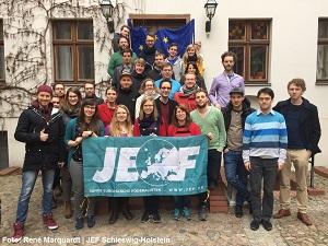 Der I. Bundesausschuss 2015 der JEF in Berlin