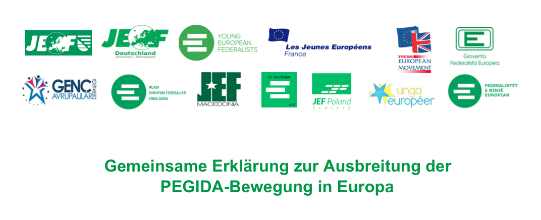 Gemeinsame Erklärung zur Ausbreitung der PEGIDA-Bewegung in Europa