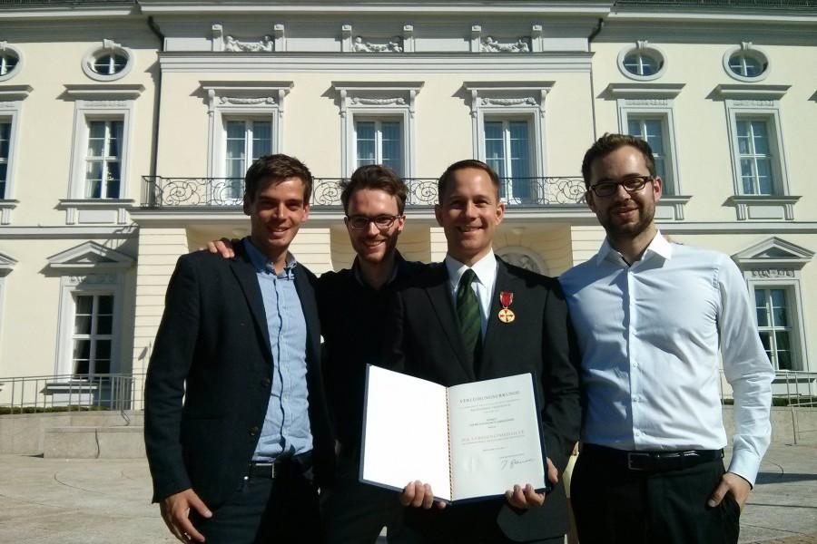 Bundespräsident verleiht Verdienstorden an JEFer