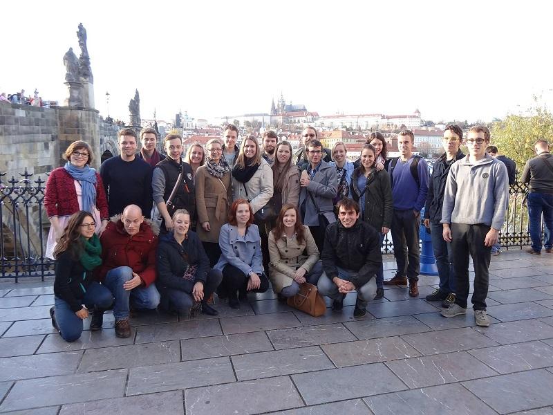 Gemeinsam Grenzen überwinden: JEF Passau zu Gast bei JEF Czech Republic in Prag