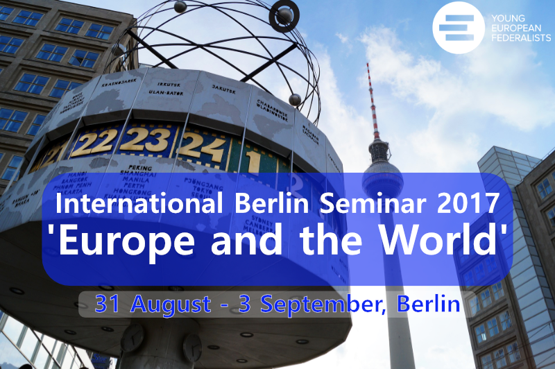 Apply now for the 18th International Berlin Seminar