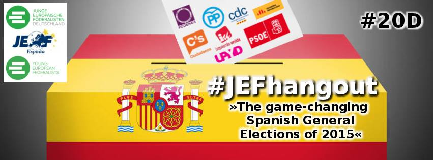 "JEF-Hangout vom 20. Dezember: ""The game-changing Spanish General Elections of 2015"""