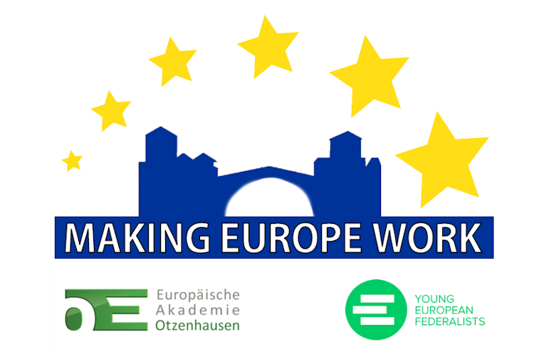 "JEF Twinning Seminar ""Making Europe Work"""