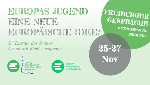28. Freiburger Gespräche 25.-27. November 2016