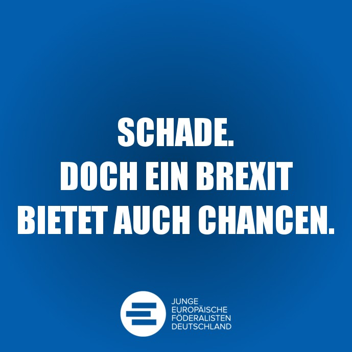 Ein Brexit bietet auch Chancen