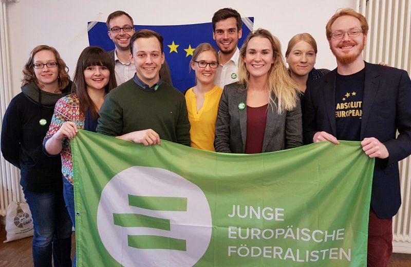 Manuel Gath neuer Bundesvorsitzender der Jungen Europäischen Föderalisten