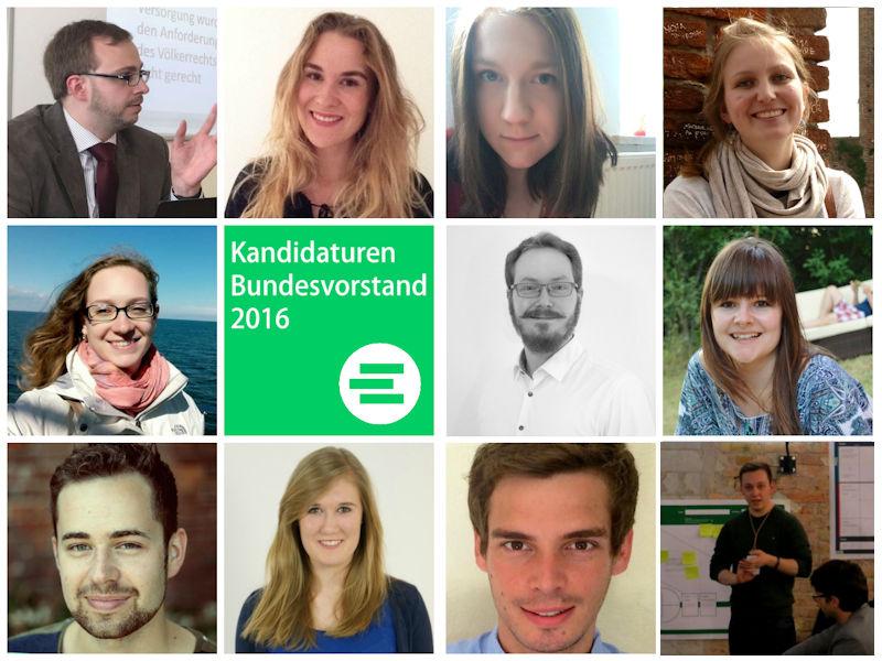 Wir kandidieren! Bewerbungen für den JEF Bundesvorstand 2016-18