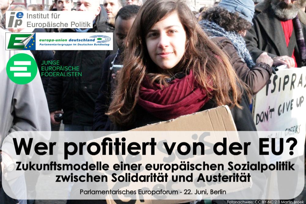 Jetzt anmelden zum Parlamentarischen Europaforum in Berlin!