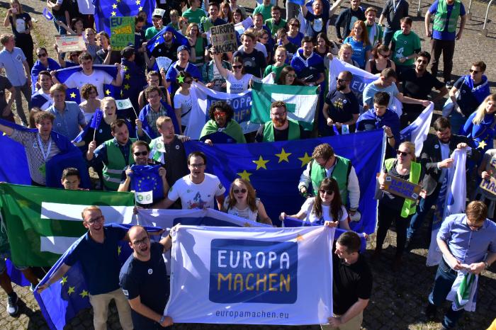 """""""Europa Machen"""" – JEF starten Kampagne zur Europawahl"""