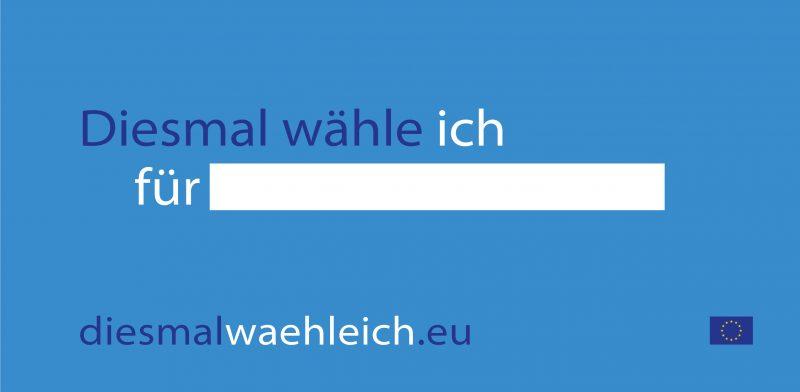 """JEF Deutschland mit #EuropaMachen-Kampagne offizieller Unterstützer von """"Diesmal wähle ich"""""""