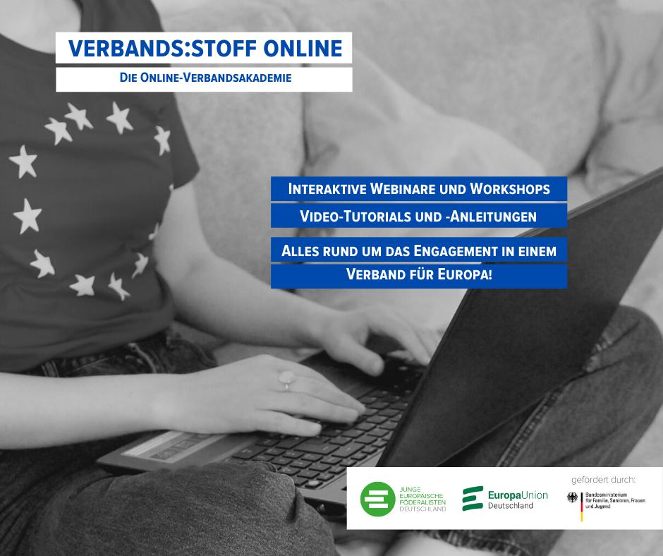 Unsere neue Online-Akademie zur Verbandsarbeit geht an den Start!