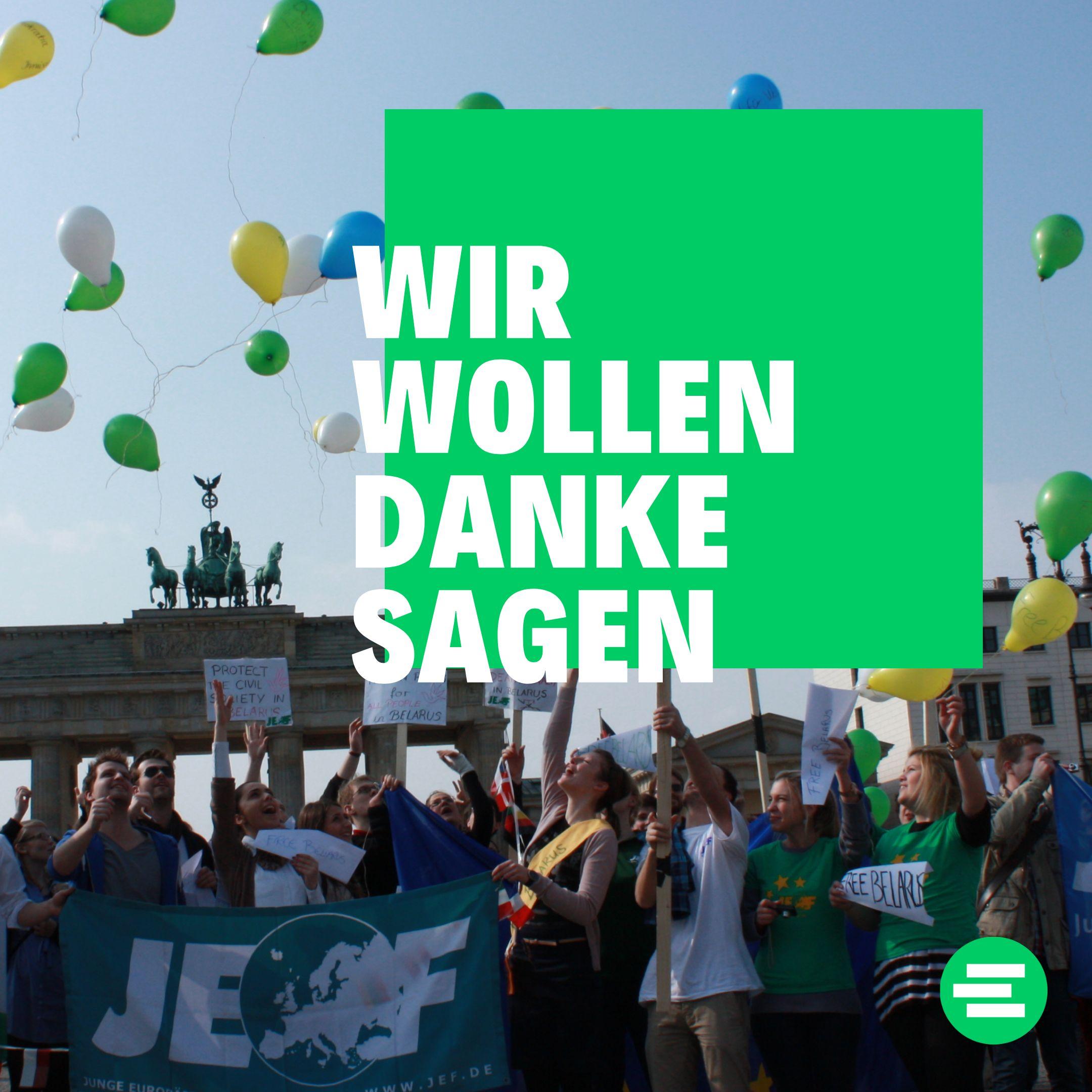 Betterplace-Kampagne: Wir wollen Danke sagen!