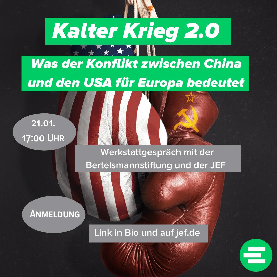 Werkstattgespräch: Kalter Krieg 2.0?