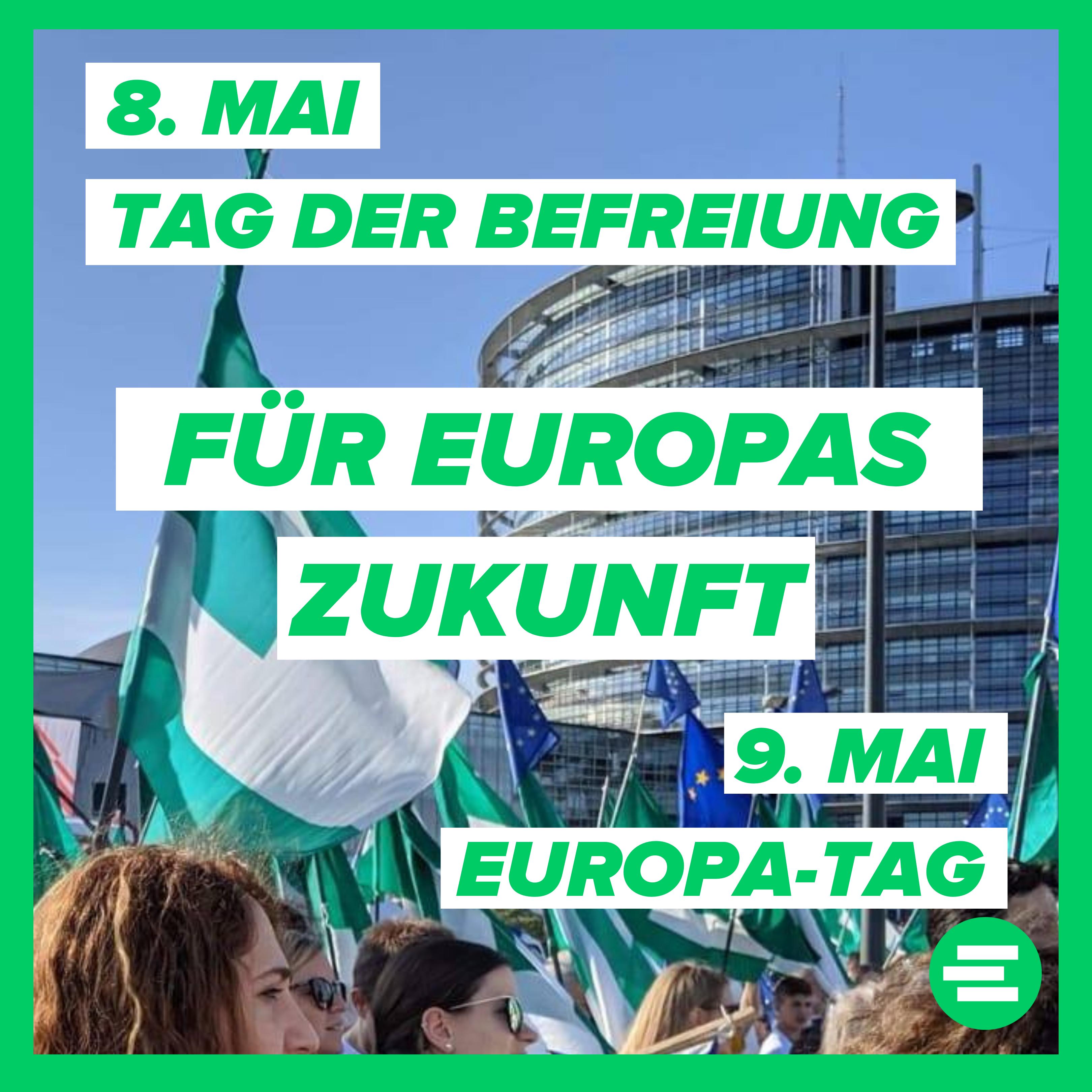 Statement der JEF Deutschland zum 8. und 9. Mai –  Für die Zukunft Europas